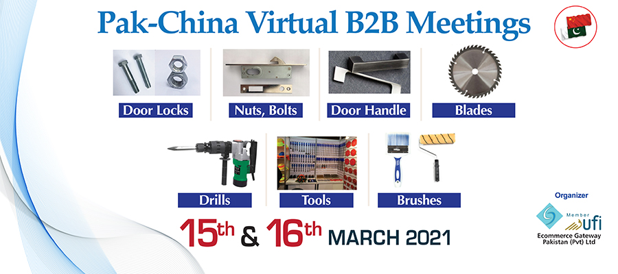 Pak-China Virtual B2B Meetings
