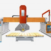 4-Axis Bridge Type Multi-function Infrared Fully Automatic Edge Cutting Machine