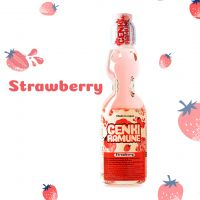 Strawberry Soda Ramune (Japan)